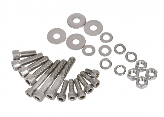 KIT B incl. screws and nuts for Lofrans windlasses. Available in various designs.""