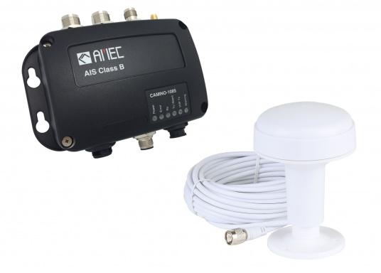 """Ausgestattet mit einem internen Splitter, erlaubt der Camino-108S die Nutzung der vorhandenen UKW-Antenne. Dies macht den nachträglichen Einbau des AIS-Transponders besonders einfach. Im Lieferumfang ist die passende GPS-Antenne bereits enthalten."""""""