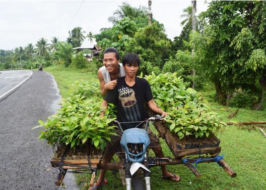 SVB hat das Aufforsten in sein Programm aufgenommen und sich als Partner die MAMA EARTH Foundation ausgewählt, welche bereits über eine Million Mangroven im Golf von Davao/Philippinen gepflanzt hat. (Bild 10 von 27)