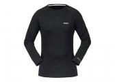 Image of Evolution Merino Long Sleeve T-Shirt / black