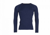 Image of Men's shirt MERINO / navy blue