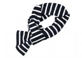 Image of Breton scarf / blue-white