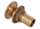 Bild von Borddurchführungen mit Schlauchanschluss, Bronze