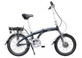 Image of BLIZZARD PRO Electric Folding Bike / mauritius blue