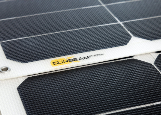 Extremely robust and durable solar module with non-slip surface. The special coating offers high scratch resistance and increased light transmission. (Image 3 of 4)