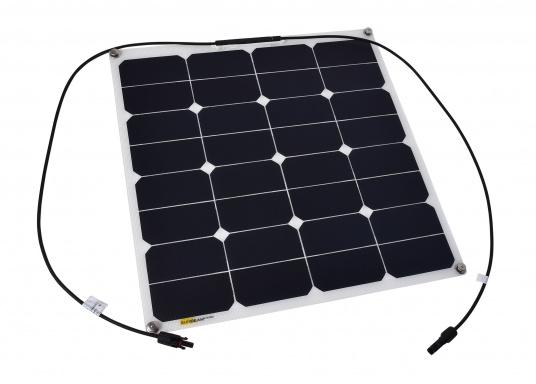 Extremely robust and durable solar module with non-slip surface. The special coating offers high scratch resistance and increased light transmission.""
