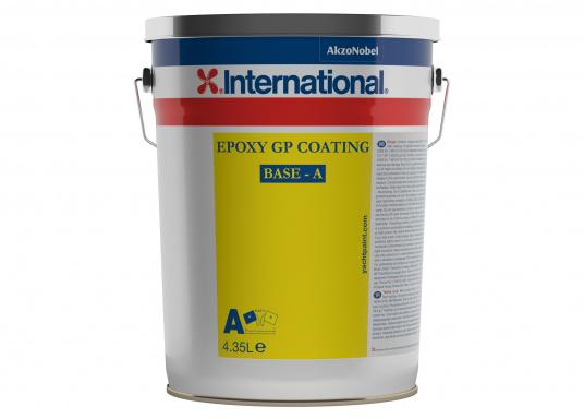 """Epoxy GP Coating is an excellent primer for pre-treated steel, aluminum, plywood and molded constructions. It can be finished by airless spraying, brush, roller or conventional sprayers with two-component products."""""""