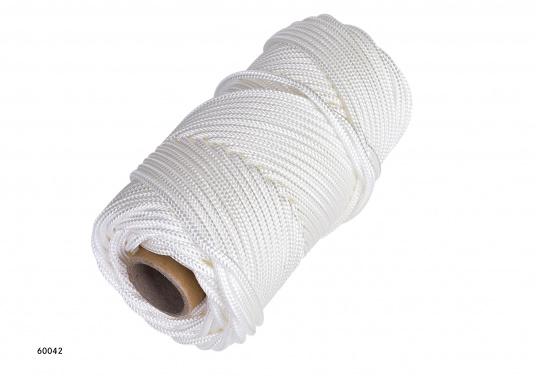 <div>Garcette à pavillon. Tresse anti-coque et allongement réduit. Existe en 3, 4, 5 et 6 mm. Bobines de 50 m ou 100 m.</div>  (Image 3 de 5)