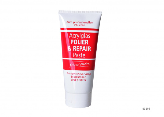 This paste reliably removes blind spots and scratches. Without wax. Tube content: 200 g.