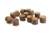 Image of Teak Plugs